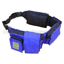 Travel Adventure Utility Waist Day Army Tool Pack Bum Bag Pocket Money Belt Blue