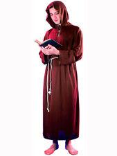 MENS ADULT MEDIEVAL MONK FRIAR TUCK FANCY DRESS COSTUME