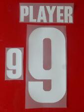 Flock Nummer number número away Trikot jersey shirt Dänemark Denmark 1988