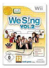 Nintendo Wii Spiel - We Sing: Vol. 2 (mit OVP)