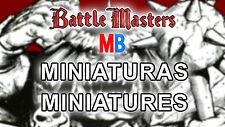 Multi-Anuncio de Miniaturas del Battle Masters / BattleMasters Miniatures of MB