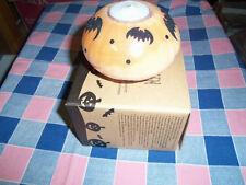 """Avon Halloween Tealight Holder with Multilights  Lights Change Color 2 3/4"""" Hig"""