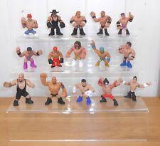 Conjunto de 6 WWE Rumblers Inc. la Roca, John Cena, Ultimate Warrior & servicios funerarios