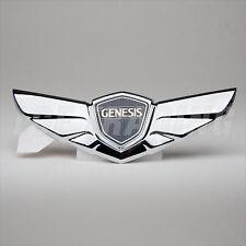 2008-14 Hyundai Genesis Sedan OEM Hood Wing Emblem NO ALIGNMENT TABS 86320-3M000