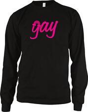 Gay Pride Rainbow Pink Lesbian Homosexual Same Sex Marriage Long Sleeve Thermal