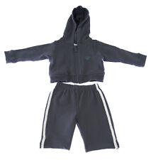 MARIE CHANTAL Baby Boy's Grey Hello Cotton Blend Sweatsuit $150 NEW