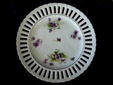 Vintage AIYO CHINA Purple Violets Plate- Occupied Japan
