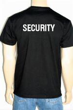 """T-Shirt Fruit of the Loom vorne und hinten mit Namen und """"SECURITY"""" bedruckt"""