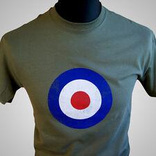 Mod Target Movie temática Retro T Shirt Quadrophenia Air Force Vintage 60's 70's