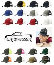 2010-14 Ford SVT Raptor F150 Pickup Truck Snapback Trucker Style Hat Cap Ad2