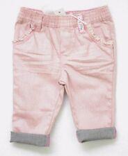 Jeans rose pailleté bébé IKKS taille 6 mois denim bois de rose XC29030