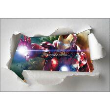 Adesivi bambino carta effetto strappato Avengers ref 7660