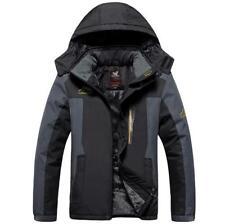 L-9XL Men Winter Jackets Plus Size Outdoor coat Waterproof Fleece Thicken coat