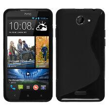 Coque Souple Silicone Gel Motif S-Line Pour HTC Desire 516 dual sim