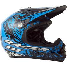 RXT NEW Mx Racer 3 Black/Blue Kids Youth Motocross Dirt Bike Off Road Helmet