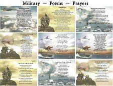 MILITARY POEM  ARMY, C-GUARD, NAVY, USAF, USMC, VETERAN