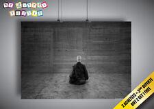 Cartel Zen instant présent B&W Buda Carpa Diem