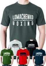 Vasyl Lomachenko T shirt Boxing Ukrainian Boxer Fighter Ukraine Otamans Champion