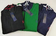 Polo Ralph Lauren Interlock Performance Track Jacket w Pony $115 - $125 3 Colors