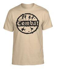 "T-Shirt ""COMBAT"" Kampfsport Mixed Martial Arts Kickboxen MMA Muay Thai UFC K1"