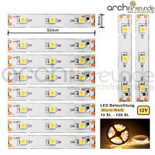 10 St. bis 100 St. LED Modellbeleuchtung 5cm Warmweiß Bahnsteig Beleuchtung