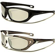 NUEVO Gafas de sol Mujer Diseño Hombre Deporte Grande Tiras Atletismo Golf