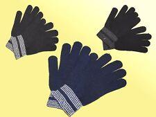 Cálido Guantes mitones guantes de punto talla única color a elegir