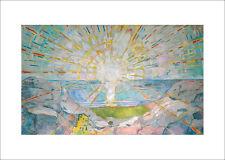 Munch - The Sun 1910 - fine art print poster - various sizes