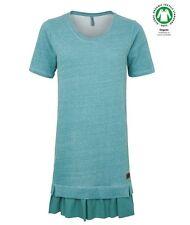Tranquillo Kleid dress Elaine turquoise organische Baumwolle organic cotton grün