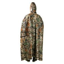 3 In 1 Women Men Waterproof Tent Mat Poncho Raincoat Hooded Poncho Rainwear