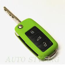 Green Key Cover VW SEAT SKODA Case Protector GTI GTD SE S R Line TDI TSI R20 N27