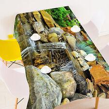3D Stein Fluss Tischdecke Tischdecke Tuch Geburtstagsfeier Event AJ WALLPAPER DE