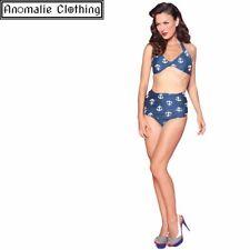 Esther Williams Anchors Print Sarong Bikini Bottom