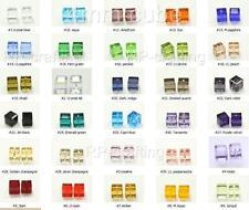 25 x Top Quality Austria cube crystal beads 4mm For Swarovski #5601-U Pick #AC41