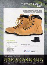 JBS Leather Safety Work Boots heat resistant upto 300C Bump Cap Steel toe cap9F7