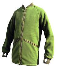 British Army Green Fleece Genuine Surplus Cold Weather Thermal Jacket 010