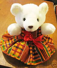 "Azania Bear Dressed for the Holidays 12.5"""