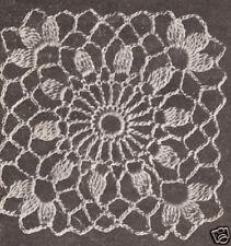 Crochet MOTIF BLOCK Cluster Flower Tablecloth Pattern
