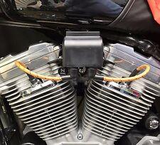 8mm Coil Relocation Top Motor Mount Harley 95-03 Sportster XL 883 1200 Black