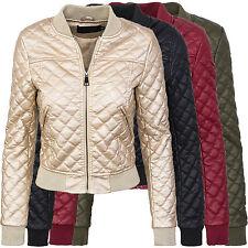 mujer chaqueta piloto de piel sintética transición blousen d-299 NUEVO