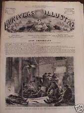 UNIVERS ILLUSTRE 1871 N 870 DRAME DE LA MINE: LE GRISOU