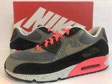 Nike Air Max 90 PRM Safari Grey/Black/Safari/Print 700155-006 Sz 12