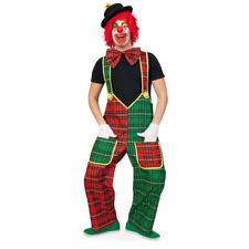 Latzhose Clown McCheck rot-grün Clownhose Zirkus Kinderparty