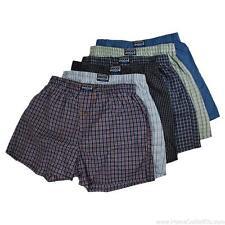 6 Pairs Mens Knocker Assorted Plaid Woven Boxer Shorts Premium Underpants Trunks