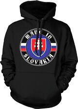 Made In Slovakia Slovak Republic Slovenská Republika Slovensko Hoodie Pullover