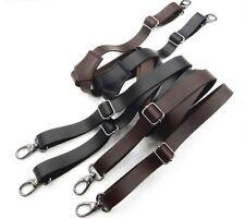 Men Pliers Women Leather Hook Buckle Suspenders Innovative Braces Gun And Strap