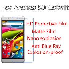 3pcsFor Archos 50 Cobalt HD Clear/Matte/Nano Explosion/Anti Blue Ray Screen Film