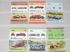 St Vincent Grenadines Union Isl 1986 176-87 B Cars Auto