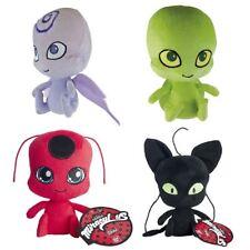 Authentic Miraculous 15cm Ladybug Plush Bandai Tag - Tikki, Plagg, Nooroo, Wayzz