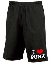 I Love punk move short Black